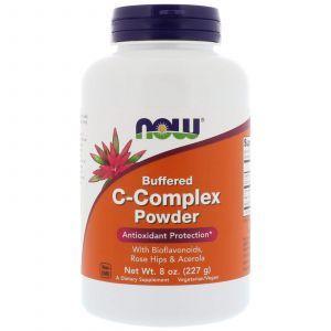 Витамин С комплекс, порошок, C-Complex, Now Foods, 227