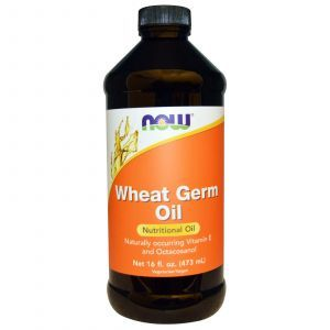Масло зародышей пшеницы, Wheat Germ Oil, Now Foods, 473 м