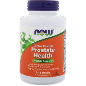 Здоровье простаты, Prostate Health, Now Foods, 90 капс