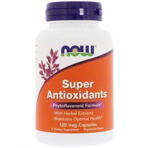 Антиоксиданты супер, Antioxidants, Now Foods, 120 капсу