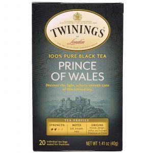 Чай Принц Уэльский, Tea, Twinings, Classics, 20 пак., (40