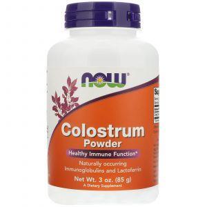 Колострум (лактоферрин), Colostrum, Now Foods, порошок, 85 грам