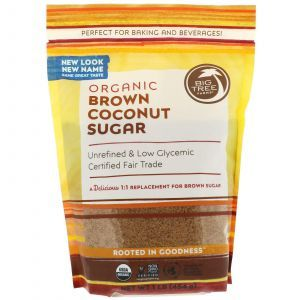 Кокосовый сахар, Coconut Palm Sugar, Big Tree Farms, 454