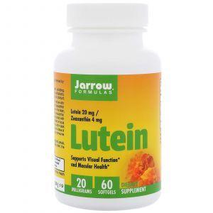 Лютеин, Lutein, Jarrow Formulas, 20 мг, 60 капс