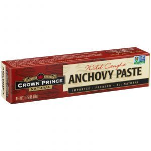 Паста из анчоусов, Anchovy Paste, Crown Prince Natural, 50 г