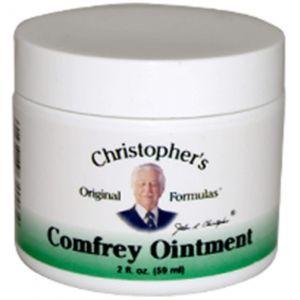 Мазь с живокостом, Comfrey Ointment, Christopher's Original Formulas, 59 мл.