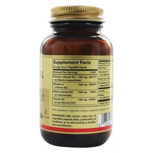 """Витамин В-100 комплекс, B-Complex """"100"""", Solgar, 50 капсул (Default)"""