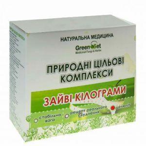 """Природный целевой комплекс """"Целлюлит"""", GreenSet, растительные препараты, 4 шт"""