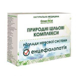 Энцефалопатия, дисциркуляторная энцефалопатия, GreenSet, природный целевой комплекс, курс 2, растительные препараты, 4 шт