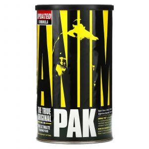 Дополнительная формула для спортсменов, Animal Pak, Universal Nutrition, лучший тренировочный набор, 44 пакета