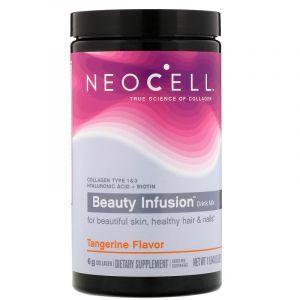 Коллаген, Collagen Drink Mix, Neocell, мандариновый твист, 330 г