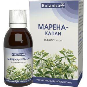 Марена, Botanica, капли, поддержка почек, 50 мл