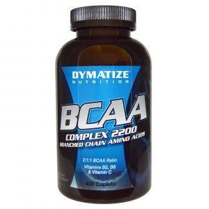 Аминокислоты с разветвленной цепью, BCAA Complex 2200, Dymatize Nutrition, 400 кап.