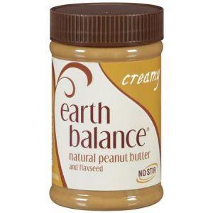 Сливочное арахисовое масло со льном, Earth Balance, 453 г