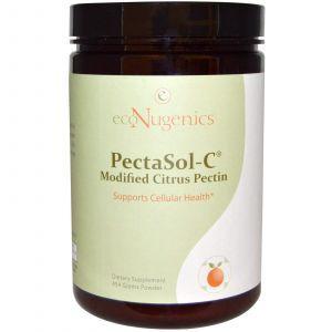 Модифицированный цитрусовый пектин, Modified Citrus Pectin, Powder, Econugenics, 454 г