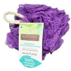 Мочалка для душа отшелушивающая, EcoTools, 1 шт.