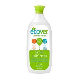 Моющее средство для посуды с ароматом лайма, Dish Soap, Ecover, жидкое, 739 мл
