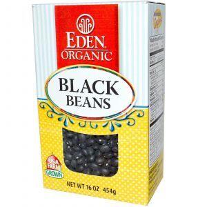 Черная фасоль, Eden Foods,  454 г