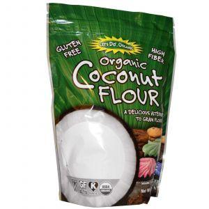 Кокосовая мука, Organic Coconut Flour, Edward & Sons, 454 г