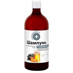 """Шампунь """"Мумие алтайское и мед"""", Домашний Доктор, 1000 мл"""