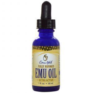 Масло эму, (жир эму), Emu Oil, Emu Gold, 30 мл