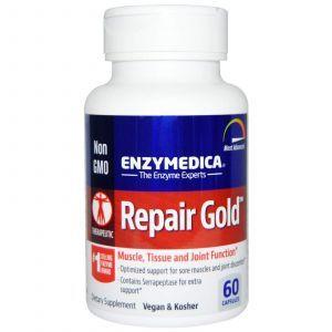 Серрапептаза для суставов, Enzymedica, 60 кап.