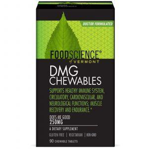Диметилглицин, DMG Chewables, FoodScience, 250 мг, 90 таб.