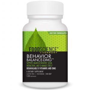 Диметилглицин, Behavior Balance-DMG, FoodScience, 120 кап.