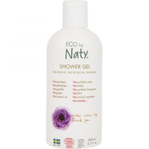 Гель для душа для всей семьи EcoCert, Shower Gel EcoCert, Eco by Naty, органический, 200 мл