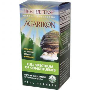 Трутовик, Agarikon, Fungi Perfecti, 60 кап.