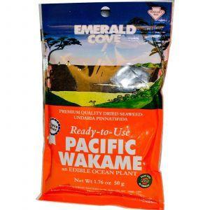 Водоросли вакамэ, Pacific Wakame, Great Eastern Sun, 50 г