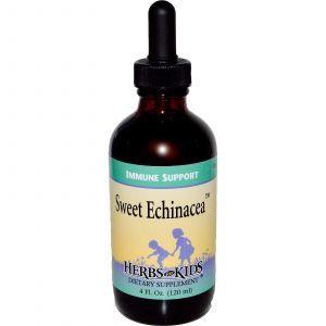 Эхинацея для детей, Sweet Echinacea, Herbs for Kids, 120 мл.