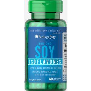 Изофлавоны сои, Soy Isoflavones, Puritan's Pride, 750 мг, 60 капсул