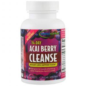 Асаи, 14-Day Acai Berry Cleanse, Irwin Naturals, 56 таблеток
