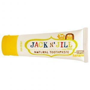 Детская зубная паста (банан), Jack 'N' Jill, 50 г