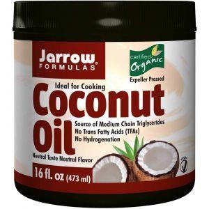 Кокосовое масло органическое, Jarrow Formulas, 454