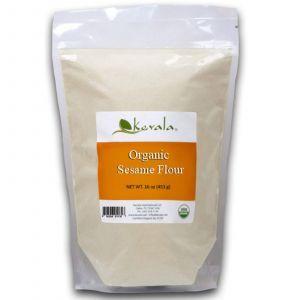 Кунжутная мука, Sesame Flour, Kevala, органик, 453 г