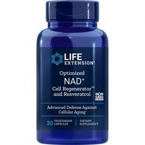 Никотинамид рибозид с ресвератролом, Life Extension, 30 капсул