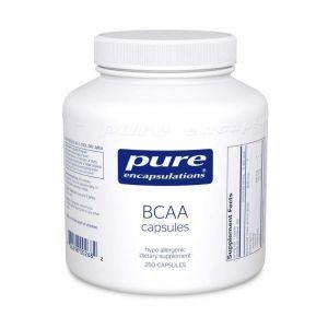BCAA, Pure Encapsulations, 250 капсул