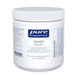 Инозитол (порошок), Inositol (powder), Pure Encapsulations, 250 гр.