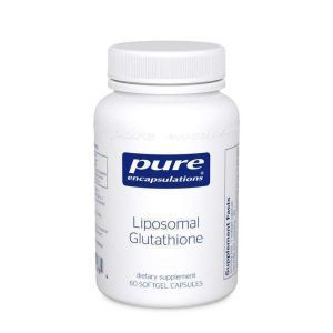 Липосомальный Глутатион, Liposomal Glutathione, Pure Encapsulations, 60 капсул