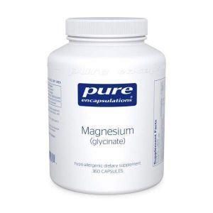 Магний (глицинат), Magnesium (glycinate), Pure Encapsulations, 90 капсул