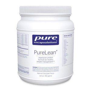 PureLean® протеиновая смесь со вкусом шоколада, PureLean® Protein Blend, Pure Encapsulations, 740 гр.