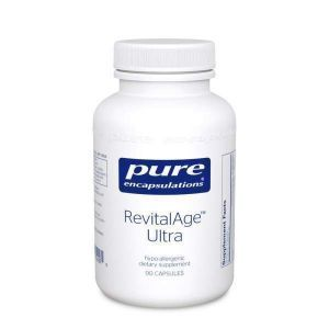 Антиоксидантно-митохондриальная формула, RevitalAge Ultra, Pure Encapsulations, 90 капсул