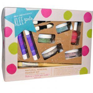 Натуральный минеральный макияж,  Natural Mineral Makeup Kit, Far and Wide, Luna Star Naturals, 7 шт