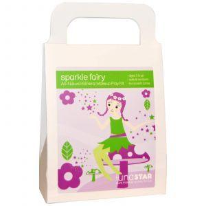 Натуральная косметика для девочек, Mineral Makeup Play Kit, Sparkle Fairy, Luna Star Naturals, 4 шт