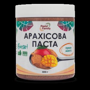 Арахисовая паста пряное манго, Pasta Family, 500 г