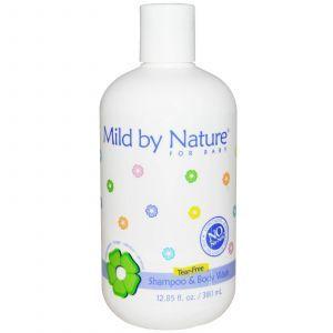 Детский шампунь-пенка смягчающий, Mild By Nature, 380 мл.