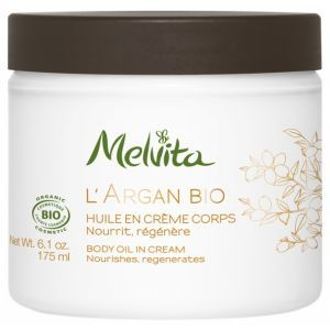 Крем для тела, L'Argan Bio Body Oil In Cream, Melvita, 175 мл