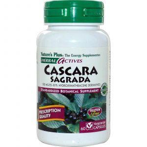 Каскара саграда, Nature's Plus, 100 мг, 60 кап